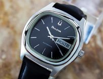 Bulova Bulova Stainless Steel Mens Vintage Automatic 1970s Mens Dress Watch Nr22