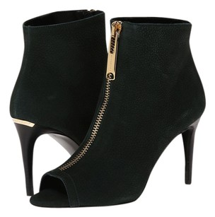 Burberry Ankle Fashion Dark Forest Green Boots