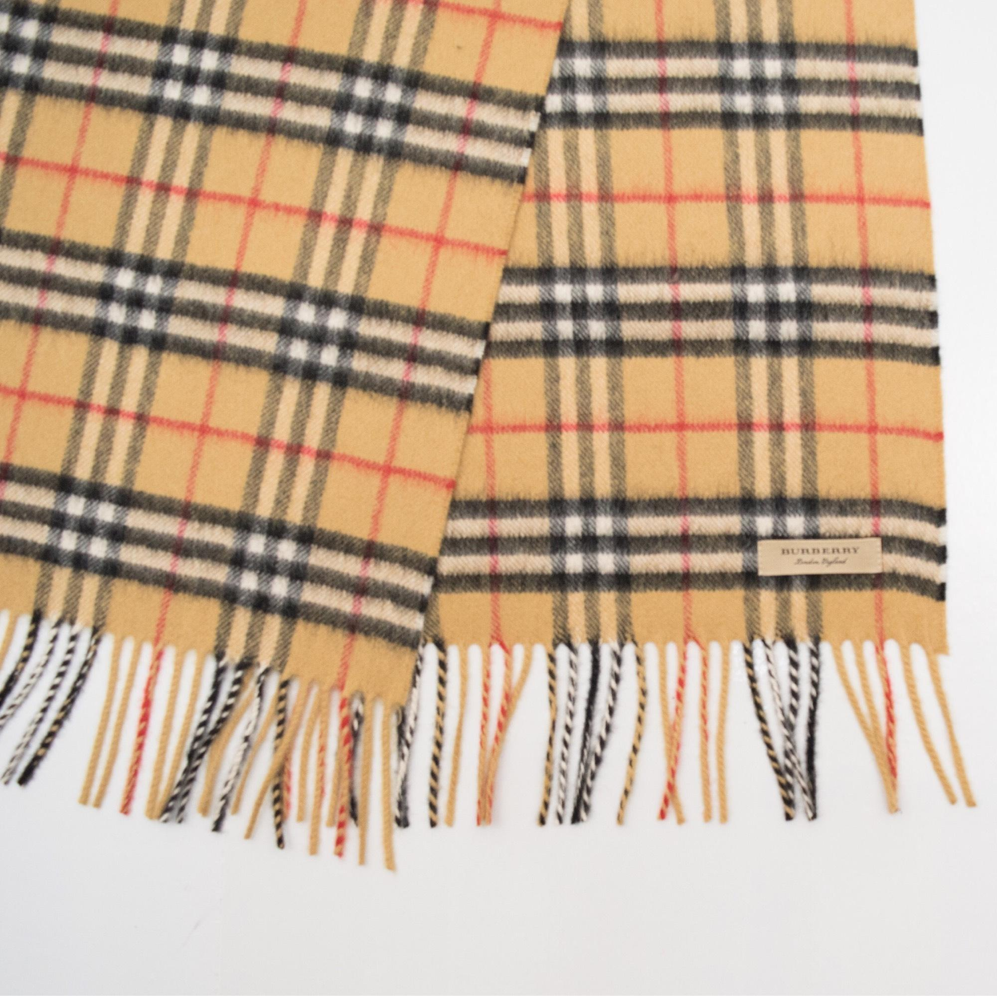 80abe498e05bd discount code for vintage burberry cashmere scarf 3bbb2 33969
