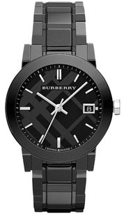 Burberry Authentic Ceramic Watch Women's Black Ceramic Bracelet BU9181