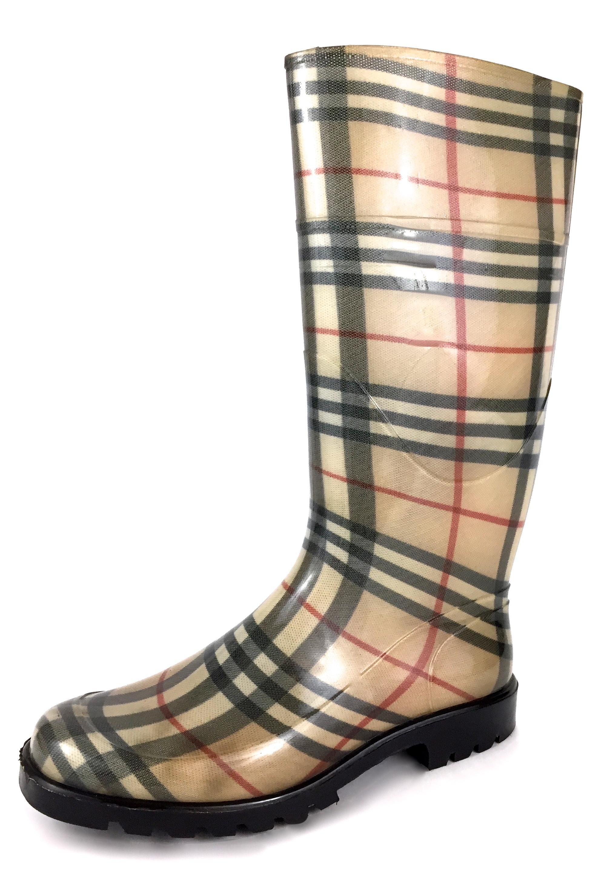 from china sale online marketable cheap online Burberry Nova Check Rain Booties w/ Tags clearance release dates lowest price cheap online footaction cheap price SVDf6