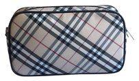 Burberry Blue Label Check Cosmetic Pouch