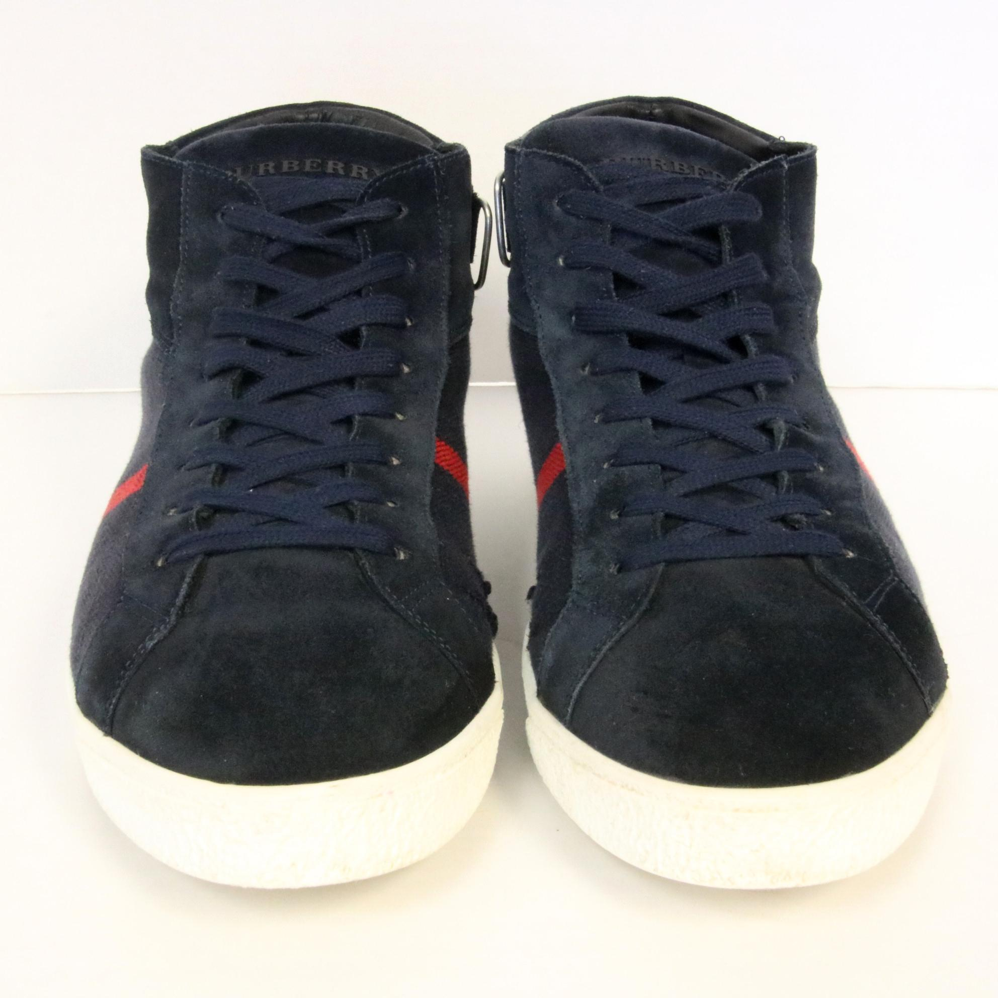 black burberry sneakers