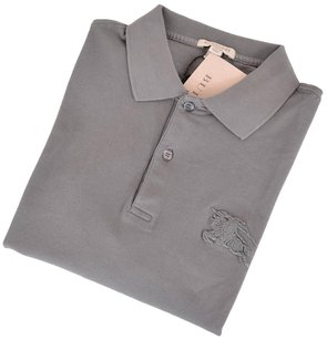 Burberry Brit Men's Polo T Shirt Gray