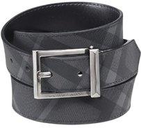 Burberry Brit Webster Men's Beat Check Belt; Size 40/100