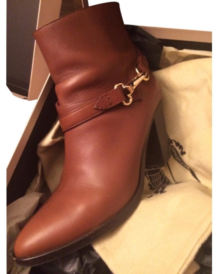 Burberry Brown Bedford Boots/Booties Size US 10 Regular (M, B)