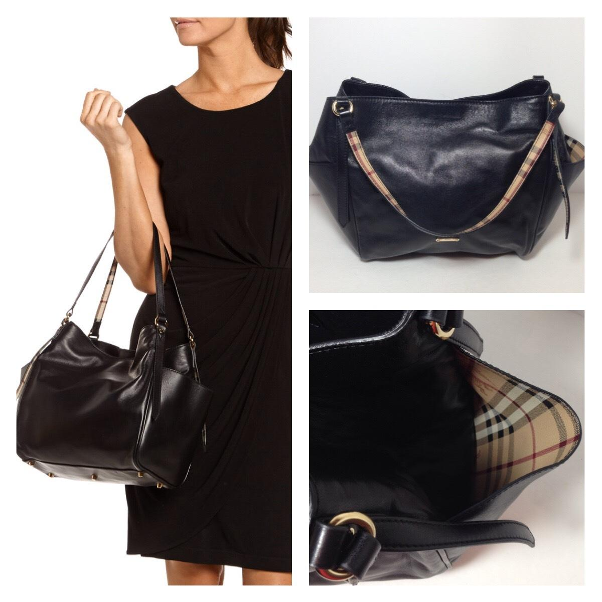 Buy burberry canterbury tote black  Free shipping for worldwide ... 44615c51aab71