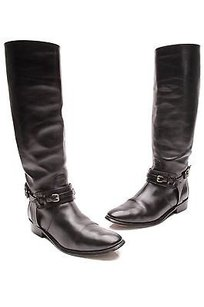 Burberry Leather Black Boots