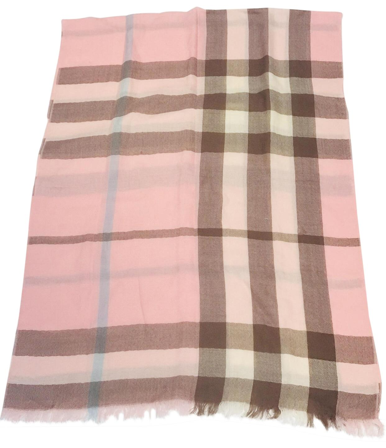 2d43716f5213 ... germany burberry london 100 cashmere giant check pink scarf 24849 a415c