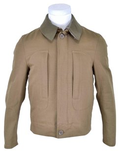 Burberry Men's Green Jacket