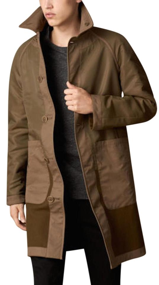 burberry mens jacket wool trench coat - Burberry Raincoat