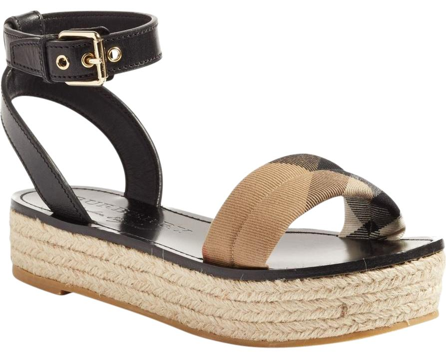 Burberry Multicolor New Parkeston US Espadrille Platform Sandals Size US Parkeston 6 Regular (M, B) 5f1fb0