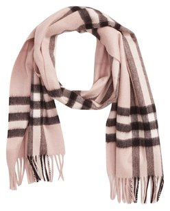 Burberry NWT Burberry Classic Giant Check Cashmere Scarf in Ash Rose Check