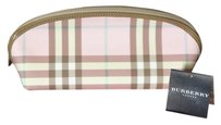 Burberry On Sale Burberry Pink Candy Check Cosmetic Bag