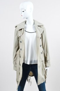 Burberry London Khaki Belted Raincoat
