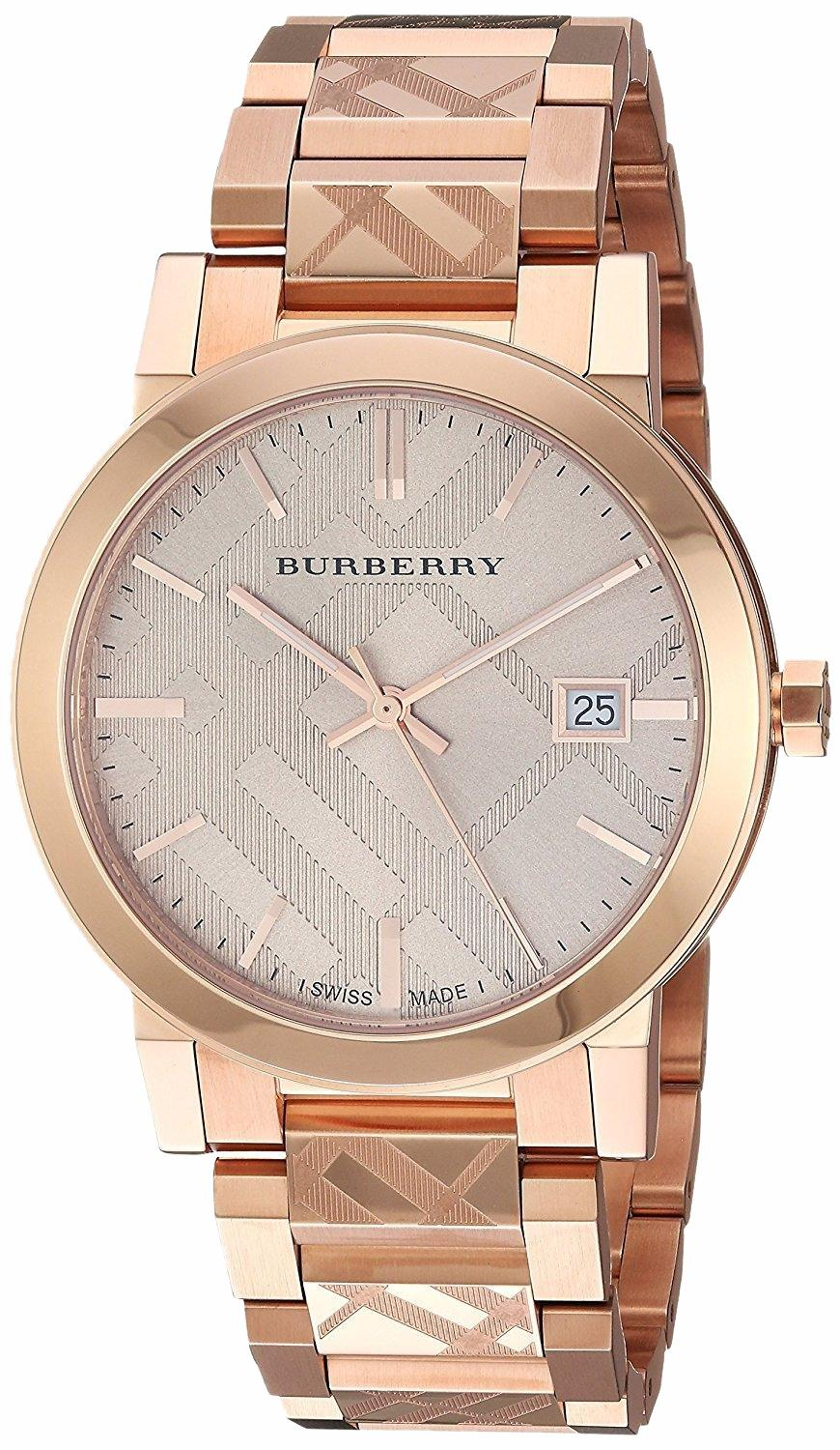 0c5918d463b Buy womens rose gold burberry watch  Free shipping for worldwide ...