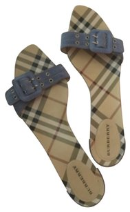 Burberry Slides Novacheck Denim denim/novacheck Sandals