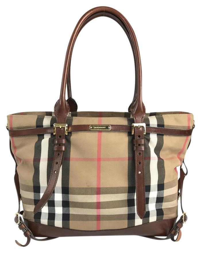 burberry timeless house check diaper bag - Baby Diaper Bags