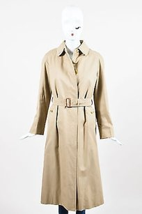 Burberry Vintage Khaki Trench Coat