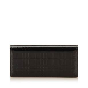 Burberry Wallet Leather 7dbuco002 Black Travel Bag
