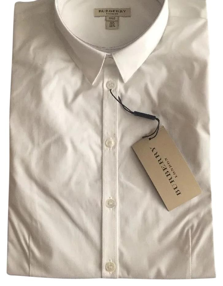 Burberry White Collar shirt