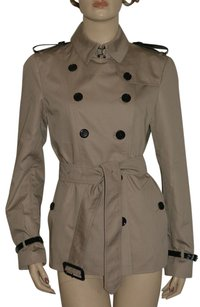 Burberry Women's Check Trench Jacket