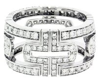 BVLGARI 18k,diamond,pave Diamonds,white Gold,an854130