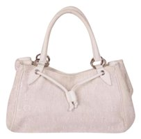 BVLGARI Canvasleather Tote in White