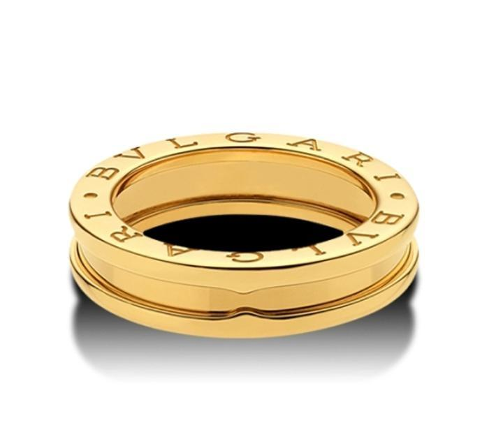 bvlgari bulgaria bzero 1 band yellow gold ring size61 uk 975