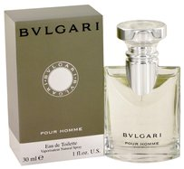 BVLGARI BVLGARI (BULGARI) POUR HOMME ~ Men's Eau de Toilette Spray 1 oz