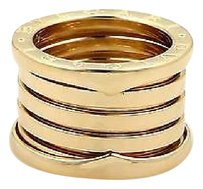 BVLGARI Bulgari Bvlgari B Zero-1 18k Yellow Gold 13mm Wide Band Ring 51-us 5.25