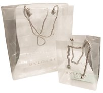 BVLGARI Chanel Paper Gift Tote in Clear