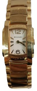 BVLGARI assioma ladies gold watch AAP26G