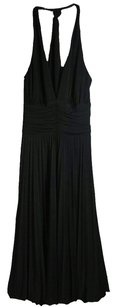 Cache Pleated Halter Dress
