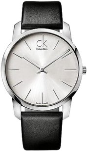 Calvin Klein Calvin Klein Ck City Leather Mens Watch K2g211c6