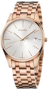 Calvin Klein Calvin Klein Ck Time Rose Gold-tone Mens Watch K4n21646