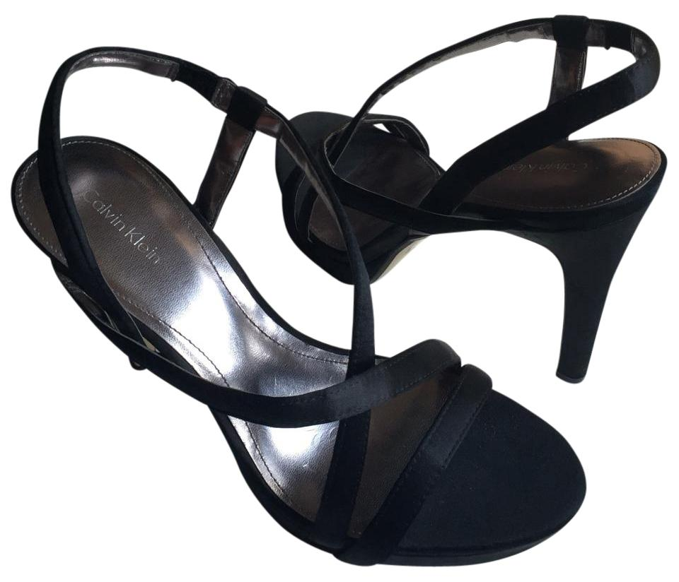 calvin klein collection black formal shoes on sale 55