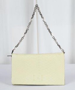 Calvin Klein Collection Yellow Clutch