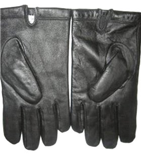 Calvin Klein MENS CALVIN KLEIN LEATHER NEW GLOVES SIZE LARGE RET $79
