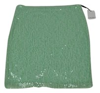 Calvin Klein Womens Mint Skirt Green