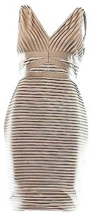 Calvin Klein Beige Gold Dress