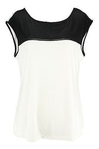 Calvin Klein Good Womens Ivory Polyester Nbw Top off-white
