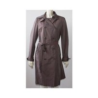 Calvin Klein Button Front Trench Raincoat Jacket Hs739 Trench Coat