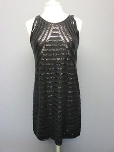Calypso St. Barth St Wool Sleeveless Sequins Solid Raven Sma279 Dress