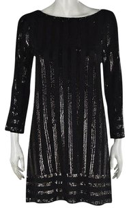 Calypso St. Barth short dress Black St Womens Sweater Sequined Above Knee on Tradesy