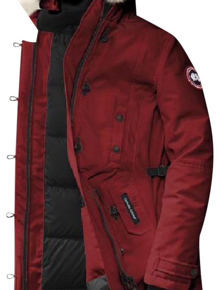0c982bf82284 usa canada goose kensington parka redwood 01090 48621  good canada goose  coat 4a950 5f162
