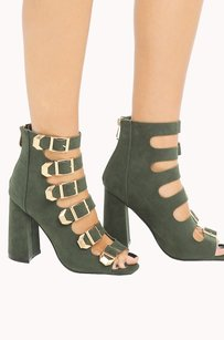 Cape Robbin 410003672898 Green Sandals