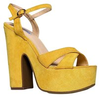Cape Robbin Yellow Sandals