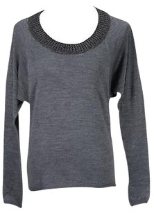 Caractère Caractere Womens Grey Sweater