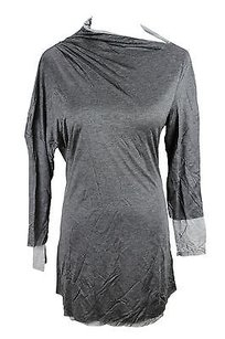 Caractère Caractere Womens Blouse Grey Tunic
